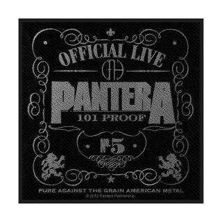 PANTERA 101% Proof, パッチ<img class='new_mark_img2' src='https://img.shop-pro.jp/img/new/icons5.gif' style='border:none;display:inline;margin:0px;padding:0px;width:auto;' />