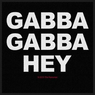 RAMONES Gabba Gabba Hey, パッチ<img class='new_mark_img2' src='https://img.shop-pro.jp/img/new/icons5.gif' style='border:none;display:inline;margin:0px;padding:0px;width:auto;' />