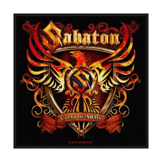 SABATON Coat of Arms, パッチ<img class='new_mark_img2' src='https://img.shop-pro.jp/img/new/icons5.gif' style='border:none;display:inline;margin:0px;padding:0px;width:auto;' />
