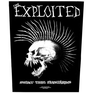 THE EXPLOITED Beat the Bastards, バックパッチ<img class='new_mark_img2' src='https://img.shop-pro.jp/img/new/icons5.gif' style='border:none;display:inline;margin:0px;padding:0px;width:auto;' />