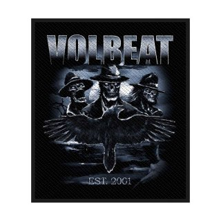 VOLBEAT Outlaw Raven, パッチ<img class='new_mark_img2' src='https://img.shop-pro.jp/img/new/icons5.gif' style='border:none;display:inline;margin:0px;padding:0px;width:auto;' />