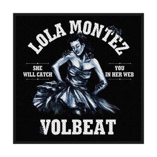 VOLBEAT Lola Montez, パッチ<img class='new_mark_img2' src='https://img.shop-pro.jp/img/new/icons5.gif' style='border:none;display:inline;margin:0px;padding:0px;width:auto;' />