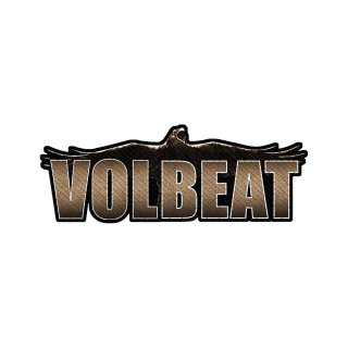 VOLBEAT Raven Logo Cut-out, パッチ<img class='new_mark_img2' src='https://img.shop-pro.jp/img/new/icons5.gif' style='border:none;display:inline;margin:0px;padding:0px;width:auto;' />