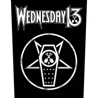 WEDNESDAY 13 What the Night Brings, バックパッチ<img class='new_mark_img2' src='https://img.shop-pro.jp/img/new/icons5.gif' style='border:none;display:inline;margin:0px;padding:0px;width:auto;' />
