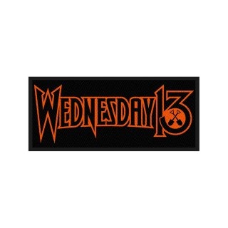 WEDNESDAY 13 Logo, パッチ<img class='new_mark_img2' src='https://img.shop-pro.jp/img/new/icons5.gif' style='border:none;display:inline;margin:0px;padding:0px;width:auto;' />