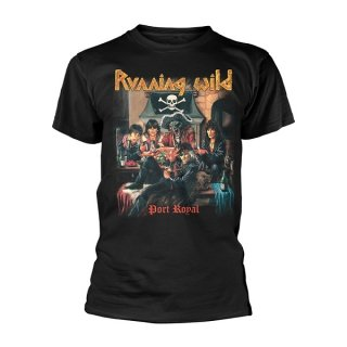 RUNNING WILD Port Royal, Tシャツ