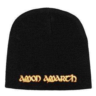 AMON AMARTH Gold Logo, ニットキャップ