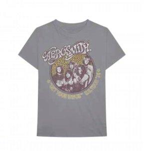 AEROSMITH Cheetah Print, Tシャツ