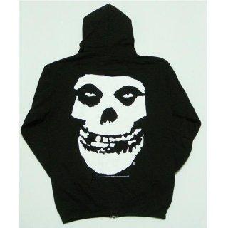 MISFITS Skull, Zip-Upパーカー