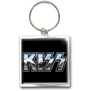 KISS Chrome Logo, キーホルダー