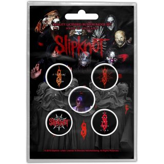 SLIPKNOT We Are Not Your Kind, バッジセット