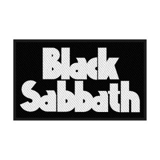 BLACK SABBATH Logo, パッチ