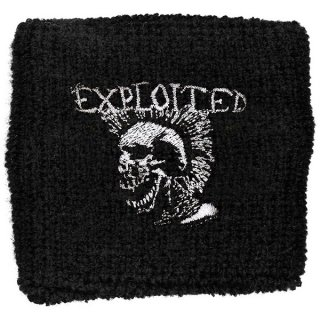 THE EXPLOITED Mohican Skull, リストバンド