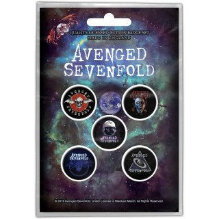 AVENGED SEVENFOLD The Stage, バッジセット