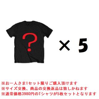 【お正月限定】お楽しみブラックボックス Tシャツ5枚