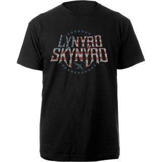 LYNYRD SKYNYRD Stars & Stripes, Tシャツ