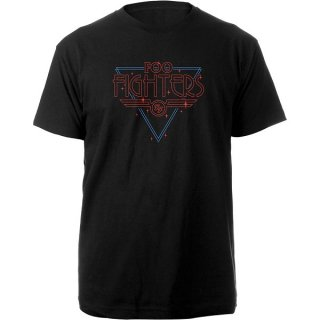 FOO FIGHTERS Black Disco Outline, Tシャツ