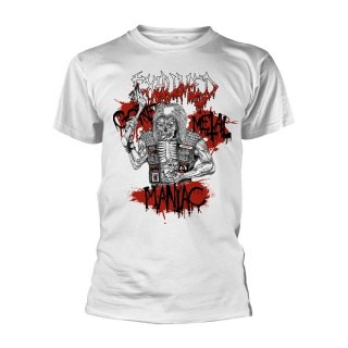 EXHUMED Gore Metal Maniac Wht, Tシャツ