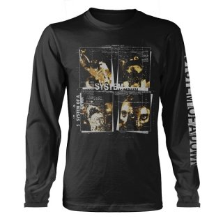 SYSTEM OF A DOWN Face Boxes, ロングTシャツ
