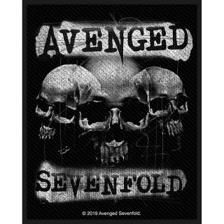 AVENGED SEVENFOLD 3 Skulls, パッチ
