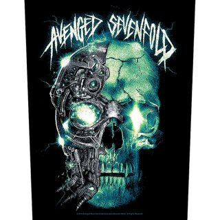 AVENGED SEVENFOLD Mechanical Skull, バックパッチ