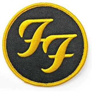 FOO FIGHTERS Circle Logo, パッチ