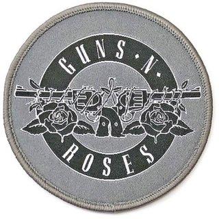 GUNS N' ROSES White Circle Logo, パッチ