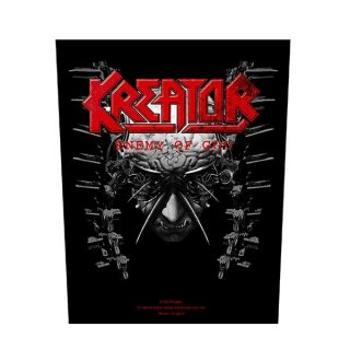 KREATOR Enemy Of God, バックパッチ