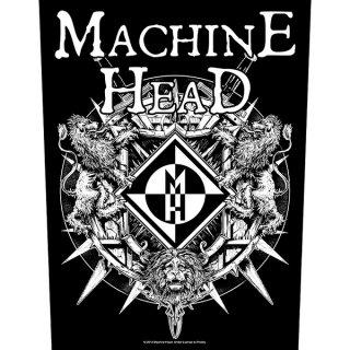 MACHINE HEAD Crest, バックパッチ