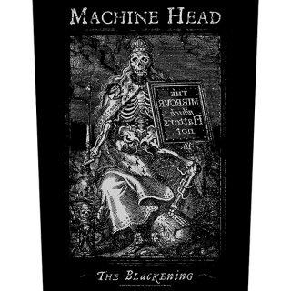 MACHINE HEAD The Blackening, バックパッチ