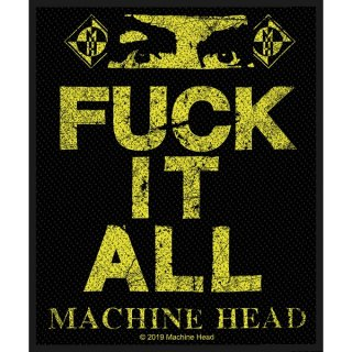 MACHINE HEAD Fuck It All, パッチ