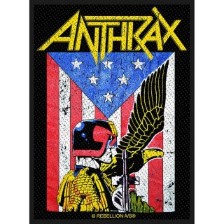 ANTHRAX Judge Dredd, パッチ