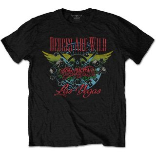 AEROSMITH Deuces Are Wild, Vegas, Tシャツ