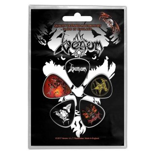VENOM Black Metal, ギターピック(5枚セット)