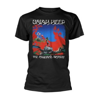 URIAH HEEP The Magicians Birthday Blk, Tシャツ