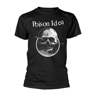 POISON IDEA Skull Logo, Tシャツ