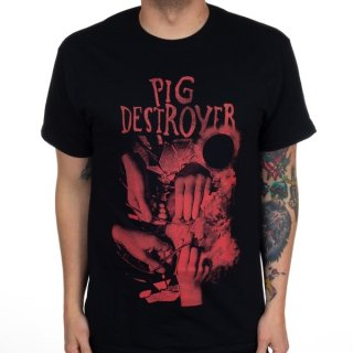 PIG DESTROYER Hands, Tシャツ