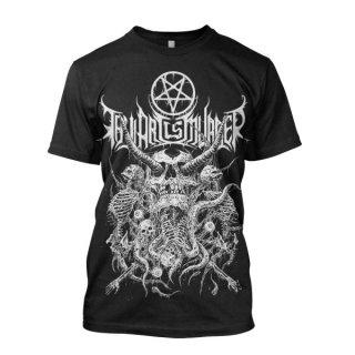 THY ART IS MURDER Riddick Skull Pile, Tシャツ