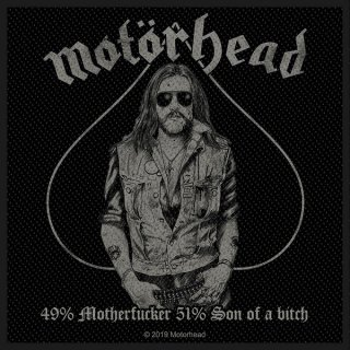 MOTORHEAD 49% Motherfucker, パッチ