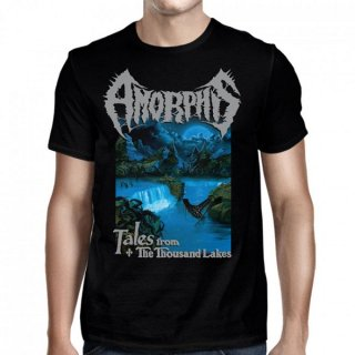 AMORPHIS Tales From 1000 Lakes Black, Tシャツ