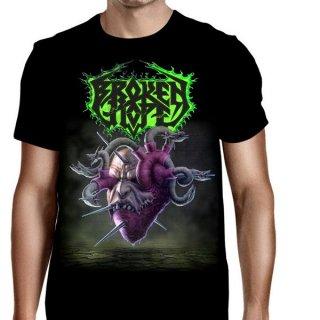BROKEN HOPE Loathing Black, Tシャツ