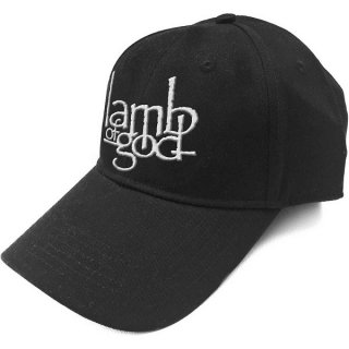 LAMB OF GOD Logo, キャップ
