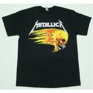 METALLICA Flaming Skull Tour 94, Tシャツ
