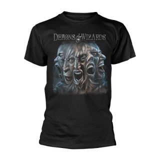DEMONS & WIZARDS Split, Tシャツ