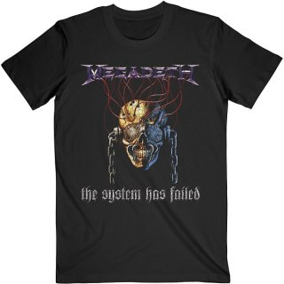 MEGADETH Systems Fail, Tシャツ