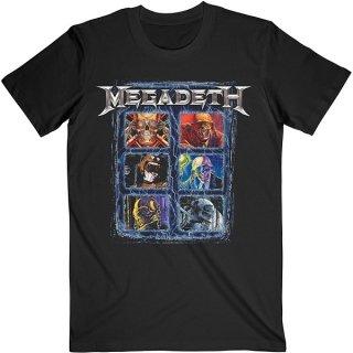 MEGADETH Vic Head Grid, Tシャツ