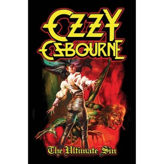 OZZY OSBOURNE The Ultimate Sin, 布製ポスター