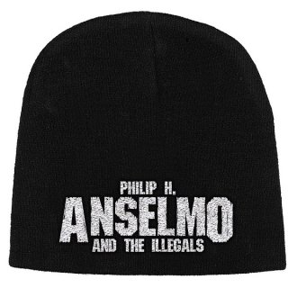 PHILIP H. ANSELMO & THE ILLEGALS Logo, ニットキャップ
