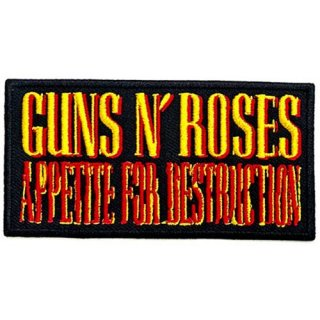 GUNS N' ROSES Appetite For Destruction, パッチ