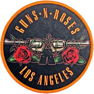 GUNS N' ROSES Los Angeles Orange, パッチ